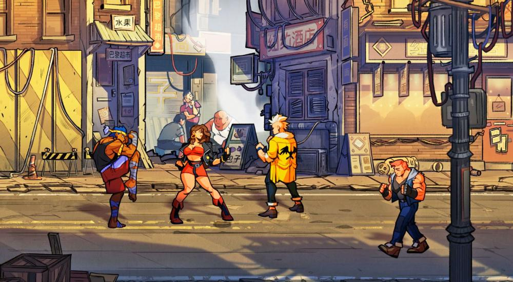 Side-scrolling beat 'em up Streets of Rage 4 receives new trailer