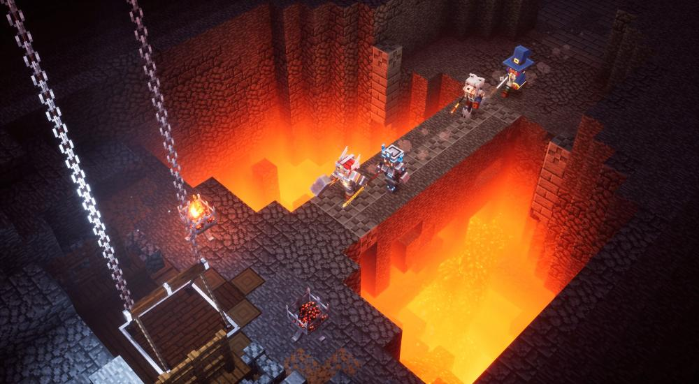 Minecraft Dungeons launches spring 2020